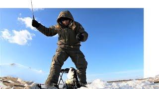 Зимняя рыбалка на щуку. Рыба сиг. Рыбалка на Амуре.