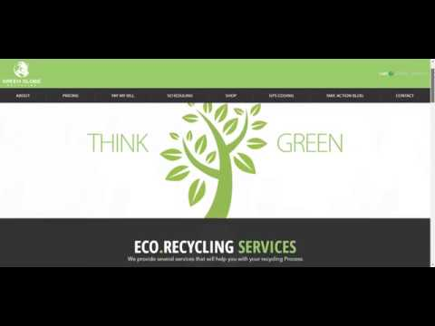Green Globe Recycling | Website Design by Overflow Local