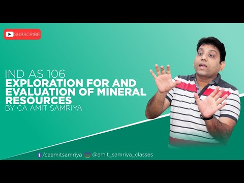 "IND AS 106 ""Exploration for and Evaluation of Mineral Resources"""