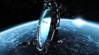 инопланетные электростанции....