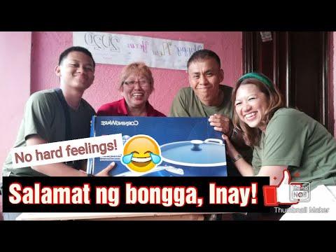 Salamat sa bonggang pa New Year ni INAY! - YouTube