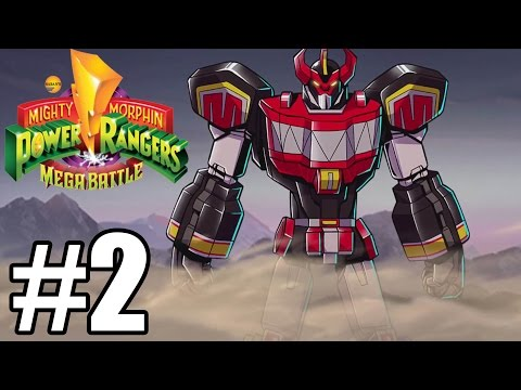 Mighty Morphin Power Rangers: Mega Battle Gameplay Walkthrough Part 2