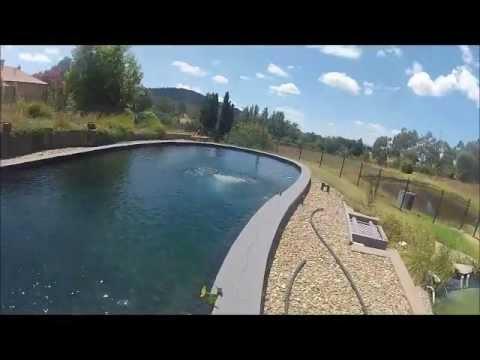 Natural swimming pool australia come for a swim youtube for Natural swimming pool australia