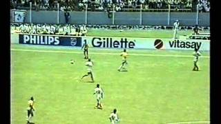 Brazil-Algeria. World Cup 1986