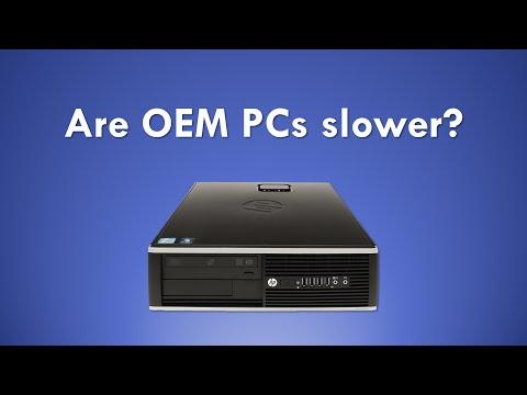 Are OEM PCs slower than Custom PCs? Response to Hardware Unboxed Video