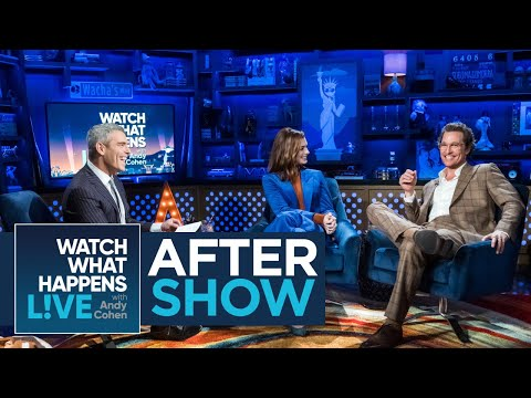 After Show: Matthew McConaughey Calls 'True Detective' Best Series | WWHL