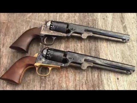 Shooting The Pietta 1851 Navy  36 Black Powder Revolver