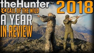 2018, a Year in Review in theHunter Call of the Wild!