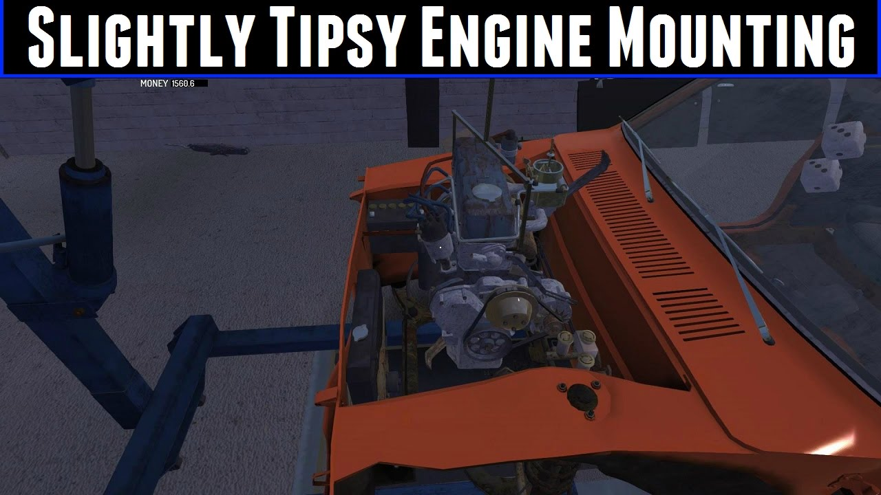 How To Remove Engine Part On My Summer Car