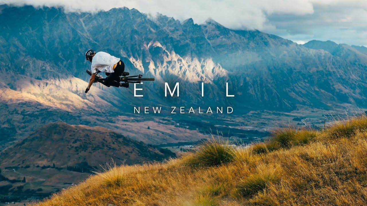 South Island MTB Perfection | Emil Johansson in New Zealand 4K