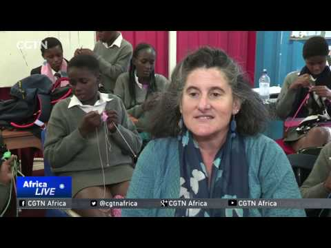 South African school uses knitting to empower young people