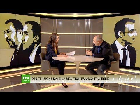 C'EST CASH ! Italie : le cauchemar de l'UE & tensions franco-italiennes