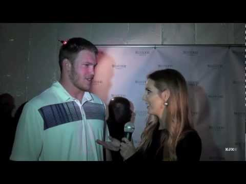Kyle Rudolph Pro Bowl MVP 2013 Honolulu Interview