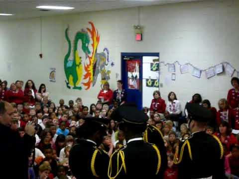 Veterans Day at Belair Elementary School