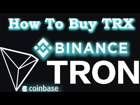 How to buy Tron TRX with Coinbase(GDAX)
