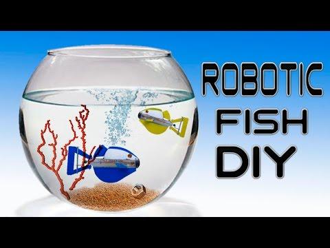 How To Make A Robotic Fish ( No Batteries )