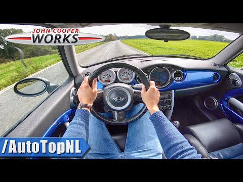 2004 Mini Cooper S JCW R53 1.6 SUPERCHARGED 211HP POV Test Drive by AutoTopNL