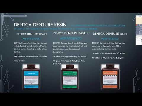 [Webinar] 3D Printing Digital Dentures with Dentca Resins – Part 1 with Cory Lambertson