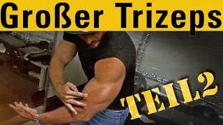 Trizeps Workout - Simons Bigger Better Triceps - Teil 2