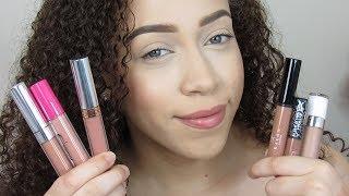 Top Favorite Nude Lip Products 2018 | JustJasmine24