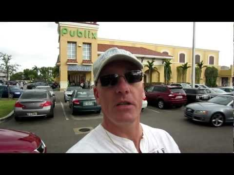 Publix Food Shopping - Fort Lauderdale Florida