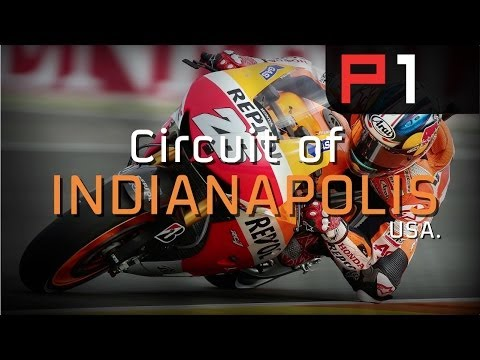 MotoGP - Dani Pedrosa on the Circuit of Indianapolis 2014