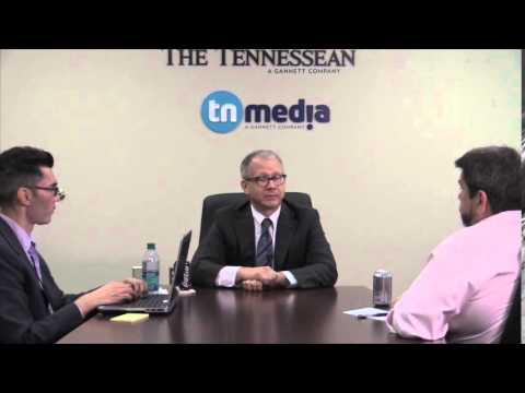 The Tennessean interviews vice mayoral candidate David Briley