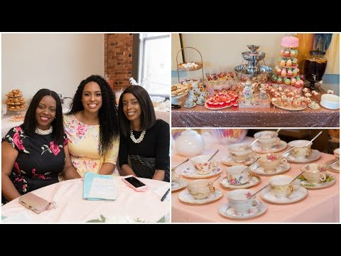 Brittney's Tea Party Bridal Shower! | 10.21.17