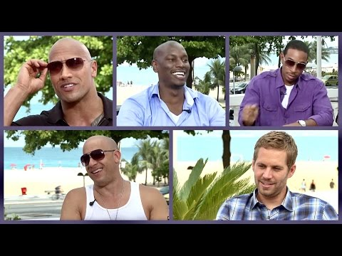 MY FIRST CAR ★ with Fast & Furious cast (The Rock, Paul Walker, Vin Diesel, Ludacris, Tyrese Gibson)