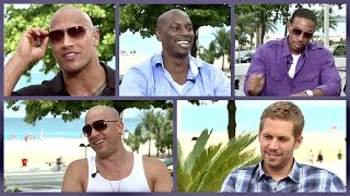 'MY FIRST CAR' with Fast & Furious cast (The Rock, Paul Walker, Vin Diesel, Ludacris, Tyrese Gibson)