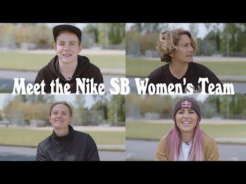 Meet The Nike SB Women's Team
