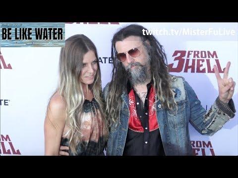 Rob Zombie, Nikki Sixx & Steven Adler @ 3 From Hell Premiere