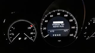 mercedes service indicator reset c300