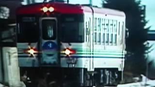 北海道のちくほ高原鉄道 ふるさと銀河線CR70です。