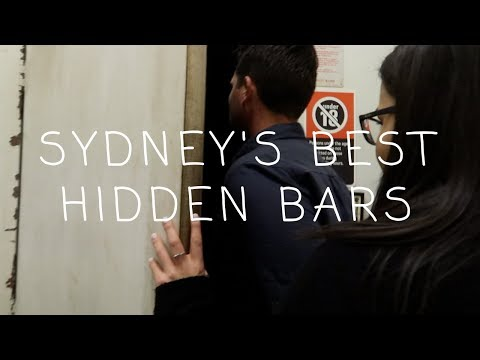 Exploring Sydney's Best Underground Bars (WE MET WHO!?)