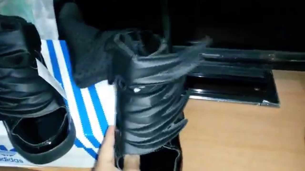 the best attitude be688 3ddec Español Jeremy scott Adidas JS wings 3.0 Unboxing