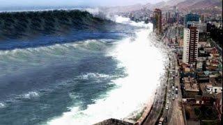 Tsunami  - Big Wave. Цунами - Большая волна