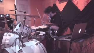 Jamming Around In The Studio - MOJO ( DAHSYAT - DRUM COVER )