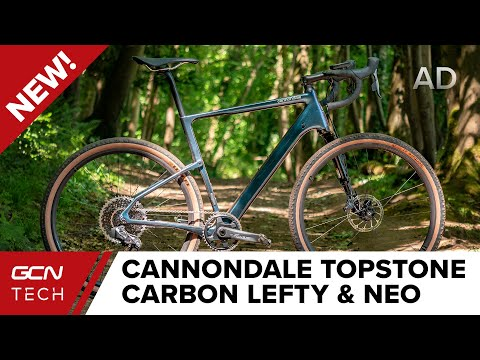 NEW Cannondale Topstone Carbon Lefty & Neo | GCN Tech First Look