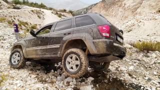 WK Jeep Grand Cherokee Extreeme Downhill