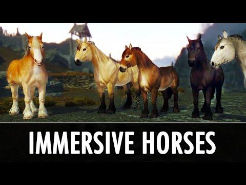 Skyrim Mod: Immersive Horses - YouTube