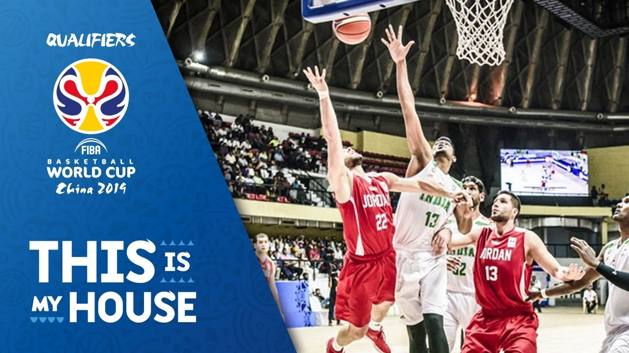 Qualifiers 2019 Fiba Asian World Highlights India Jordan V Basketball Cup 92EIDYWeH