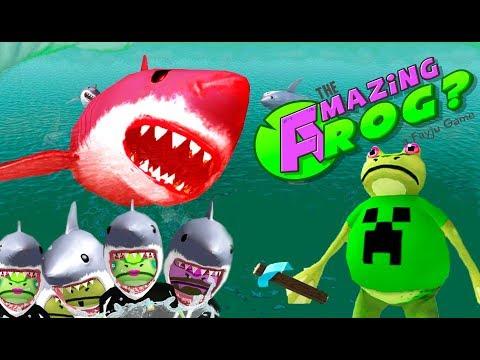 Видео Игровой автомат акула