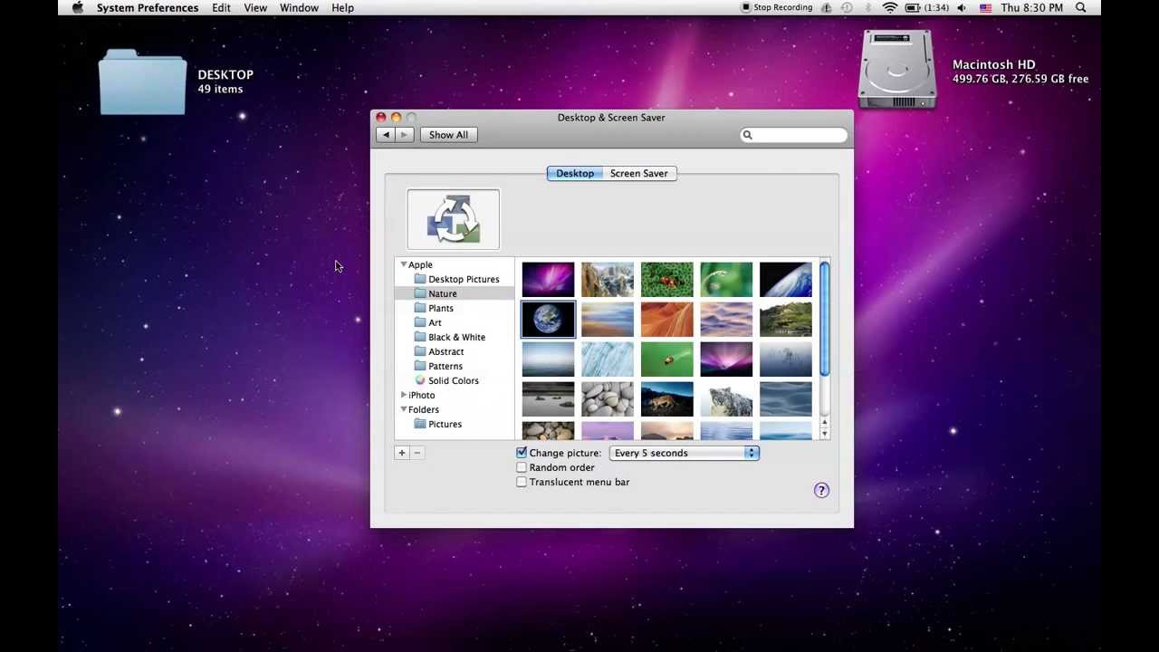 How to set your Mac Photos library as a screen saver