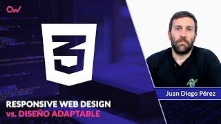 RESPONSIVE Web Design VS Diseño ADAPTABLE 🔥