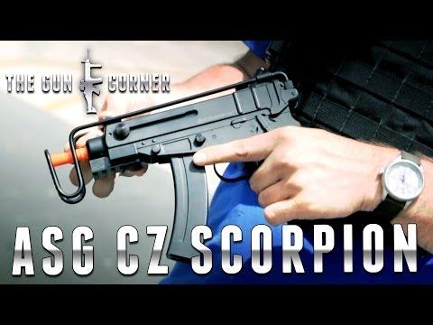 ASG CZ Scorpion SMG AEG [The Gun Corner] Airsoft Evike.com