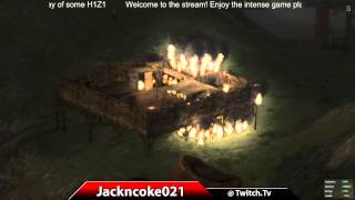 H1Z1 BLOWING UP SOMEONES BASE! (LOOTING IT)