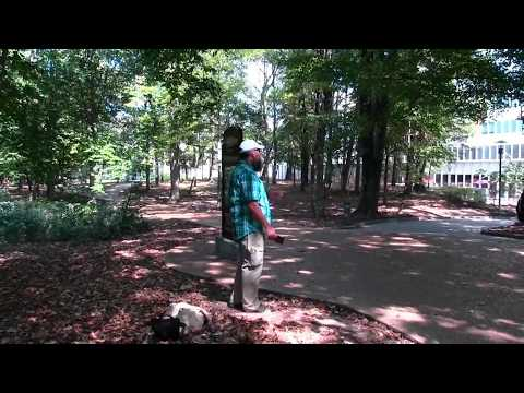 Preaching in the WOODS of Southern Illinois University (SIU) - Kerrigan Skelly