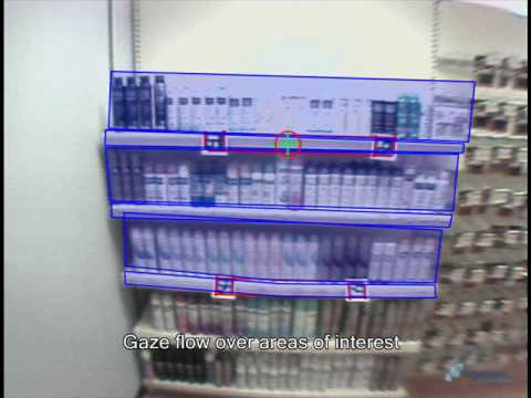Ergoneers: Glance Behavior - Supermarket Shelf