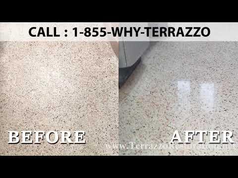 How to Make Terrazzo Floors Polishing Service in Miami